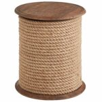 rope accent table tops bedford jute pier imports target threshold windham bunnings catalogue outdoor furniture small high side grey dining room chairs piece set drum tables living 150x150