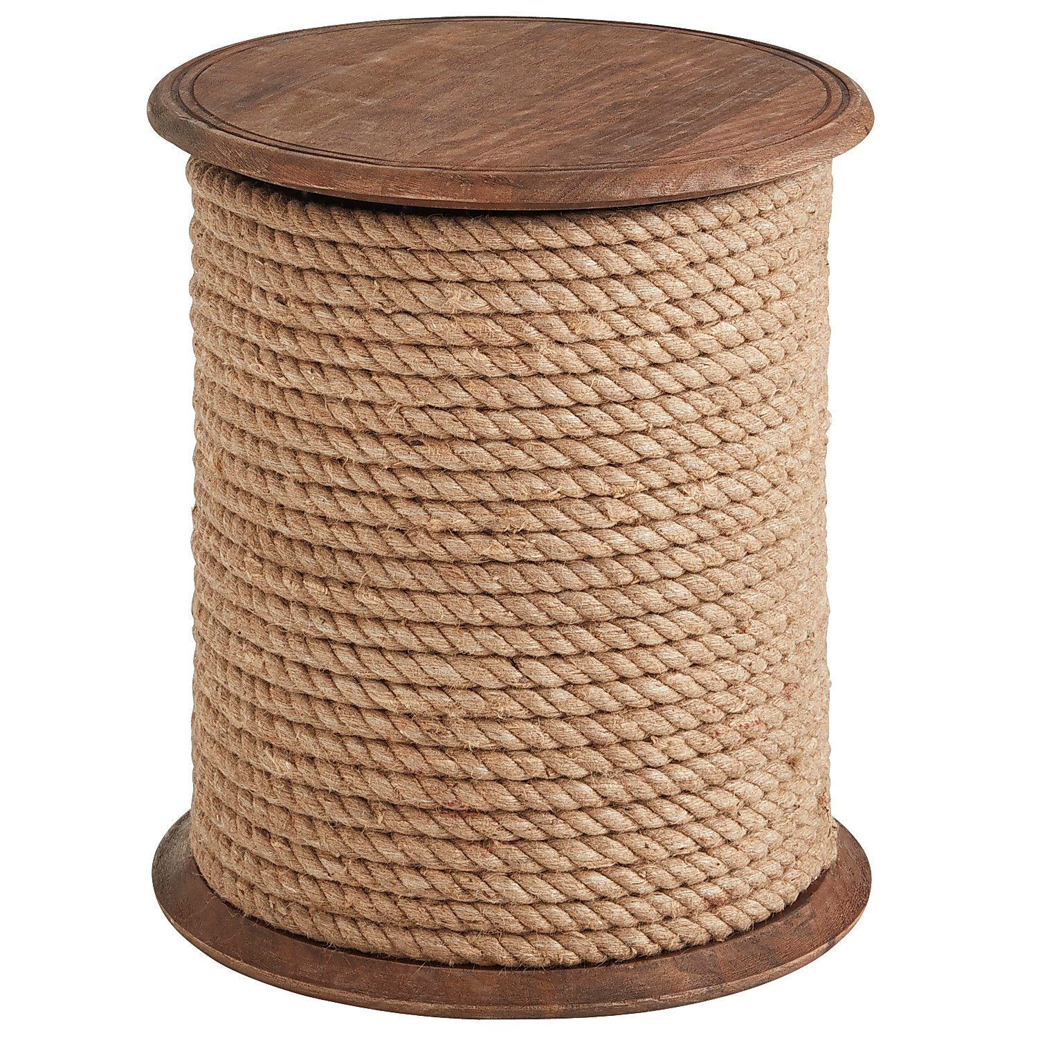 rope accent table tops bedford jute pier imports target threshold windham bunnings catalogue outdoor furniture small high side grey dining room chairs piece set drum tables living