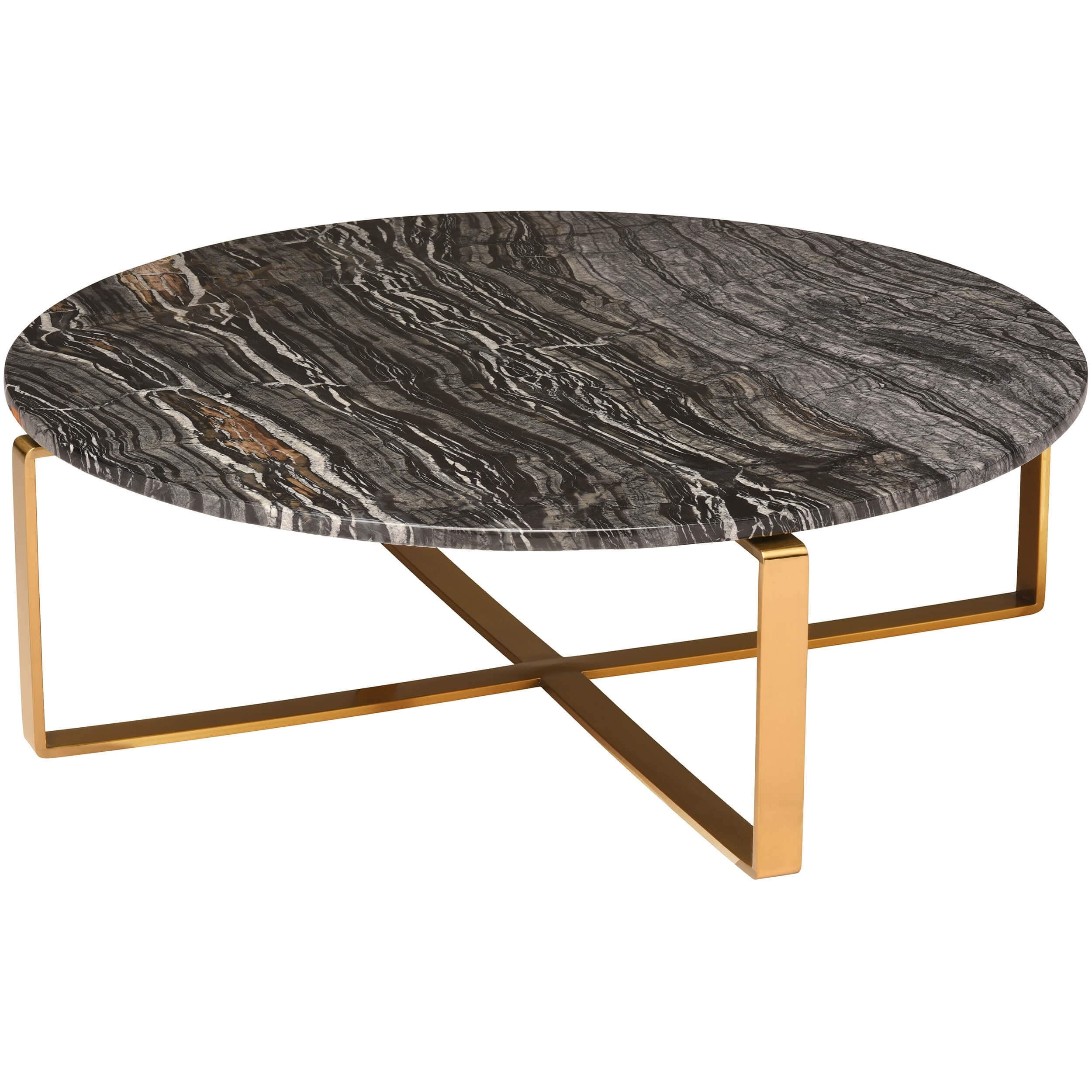 rosa coffee table black gold base tables accent furniture small half circle narrow for space tablecloth inch round patio with ice bucket mirimyn steel trestle white moon console