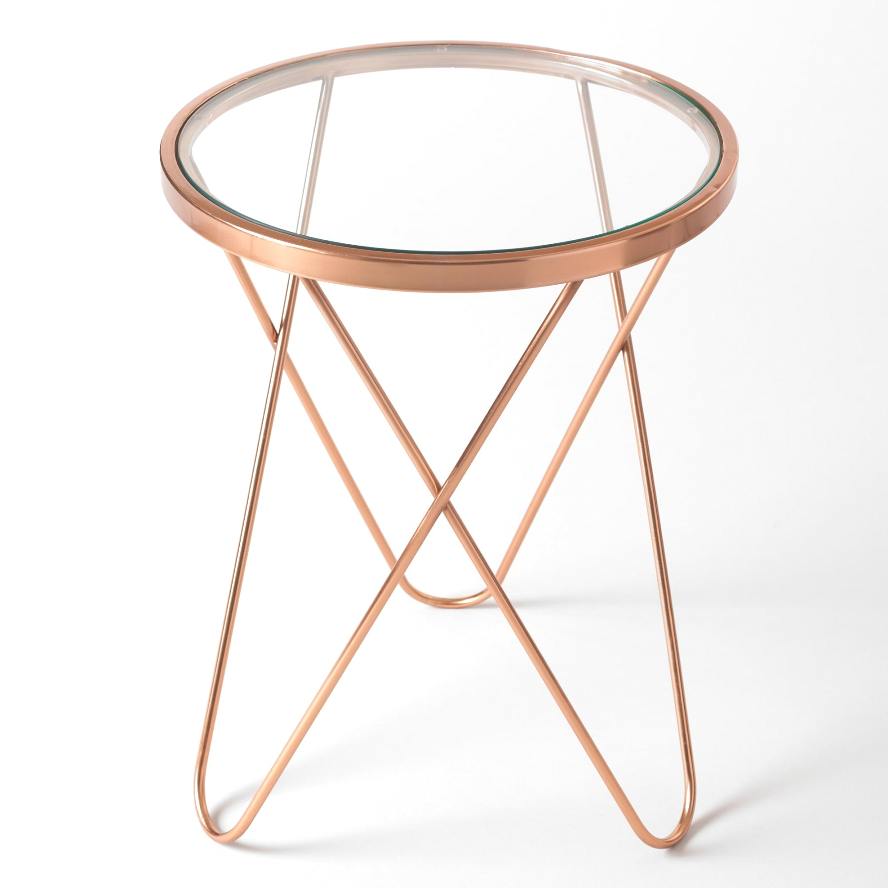 rose gold tomlin accent table design ideas montrez with top hairpin mid glass pendant lights unfinished bedside inch tablecloth tiffany lighting direct antique nautical dale