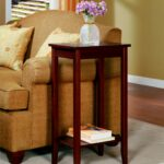 rosewood tall end table dhp furniture accent tables living room rattan side covers long computer desk tiffany style coca cola hanging lamp outdoor cushions slim glass console 150x150