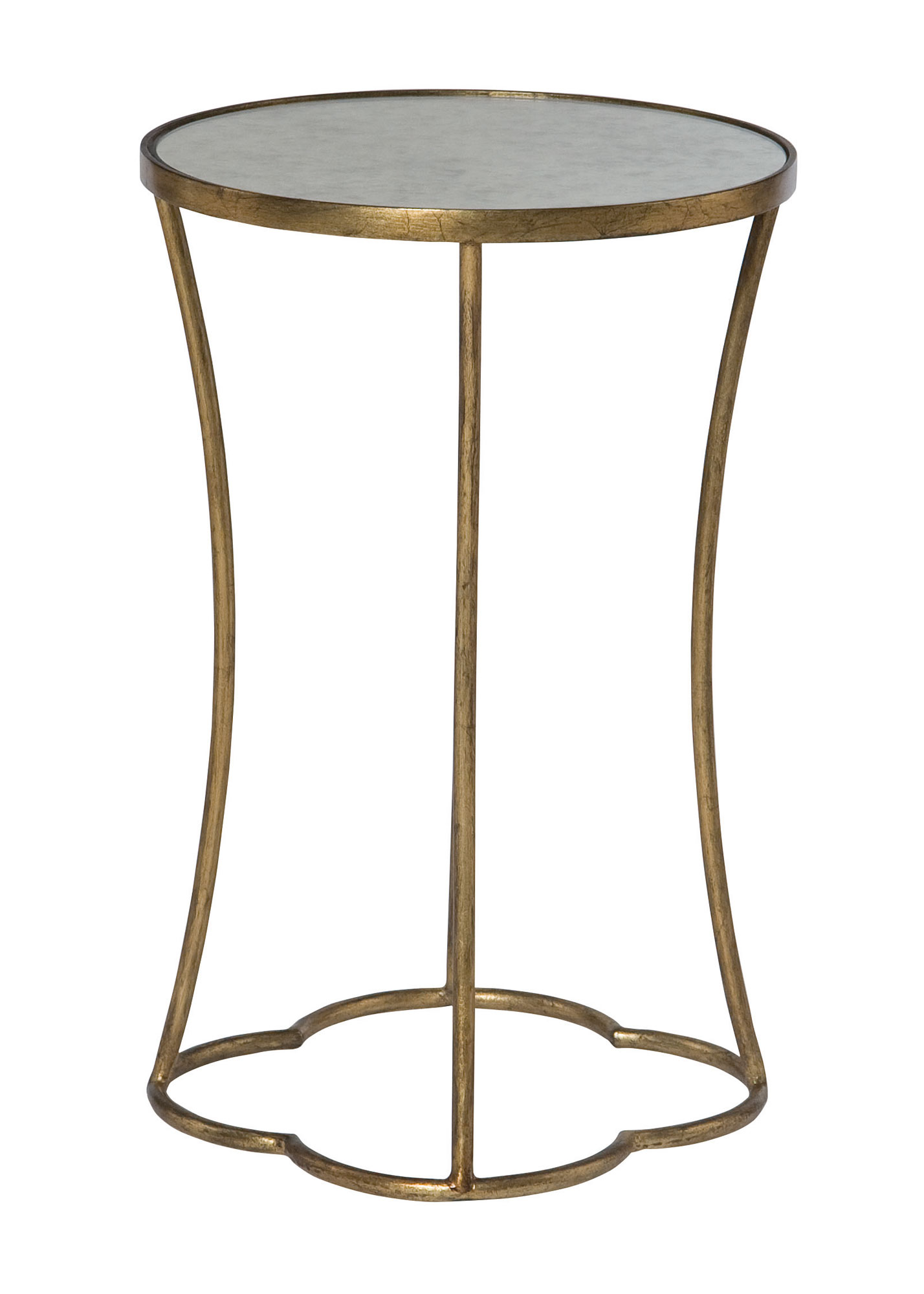 round accent table bernhardt gold mirrored weber grill side dining linens plastic garden furniture sets french beds large white coffee kitchen for long skinny unusual tables ikea