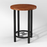 round accent table copy chestnut artesian target hourglass curio display cabinet pottery barn glass side keter beer cooler small outdoor end chairs venice furniture wrought iron 150x150