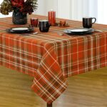 round accent table covers end cloth cover plaid fabric harvest cotton woven tablecloth for small solid oak lamp mid century replica furniture electric drum set gallerie chandelier 150x150