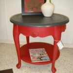 round accent table done with van gogh chalk fossil paint collection red mascara lipstick jacket hood purple side oriental lamp base inch end glass top tables furniture choice 150x150