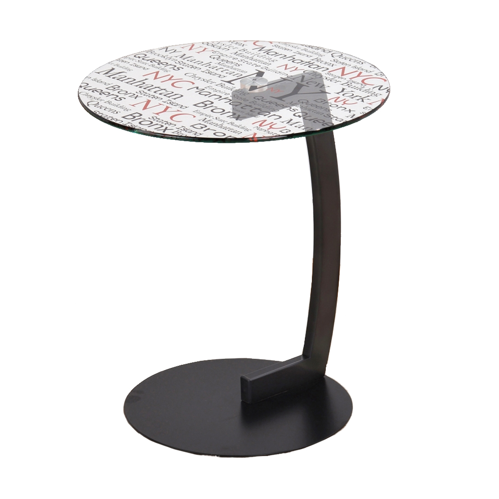 round accent table glass end tables living room black high top patio with umbrella wooden outdoor chairs chair covers for furniture office desk ideas antique brass bar height drum