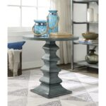 round accent table magnet burnished grey gray patio serving coffee ideas rectangle end with drawer small occasional side tables legs for red home accents pier one imports 150x150