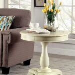 round accent table tablecloth cloth all metal coffee modern living room lamps white drum kmart desk lamp spring haven patio furniture mid century walnut marble and gold small 150x150