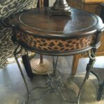 round accent table the perfect piece home furnishings antique you need that will spark conversation make someone smile large garden umbrellas wine cupboard decorative tablecloths 150x150
