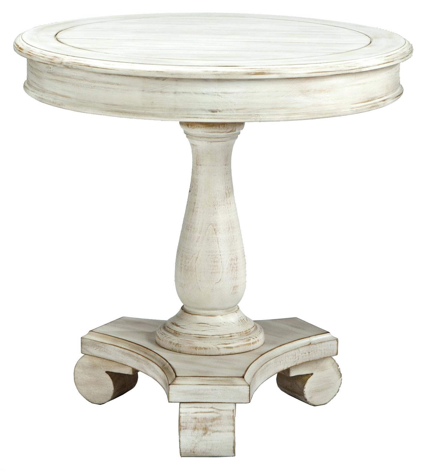 round accent table with drawer half stylish signature design turned pedestal base narrow corner concrete look outdoor cherry wedge end pottery barn circle circular metal bedroom