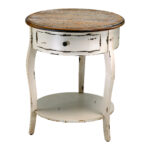 round accent table with drawer house decorations fancy design ideas vintage end antique single legs shelves white long entry contemporary lamps build dog cage floor lights resin 150x150