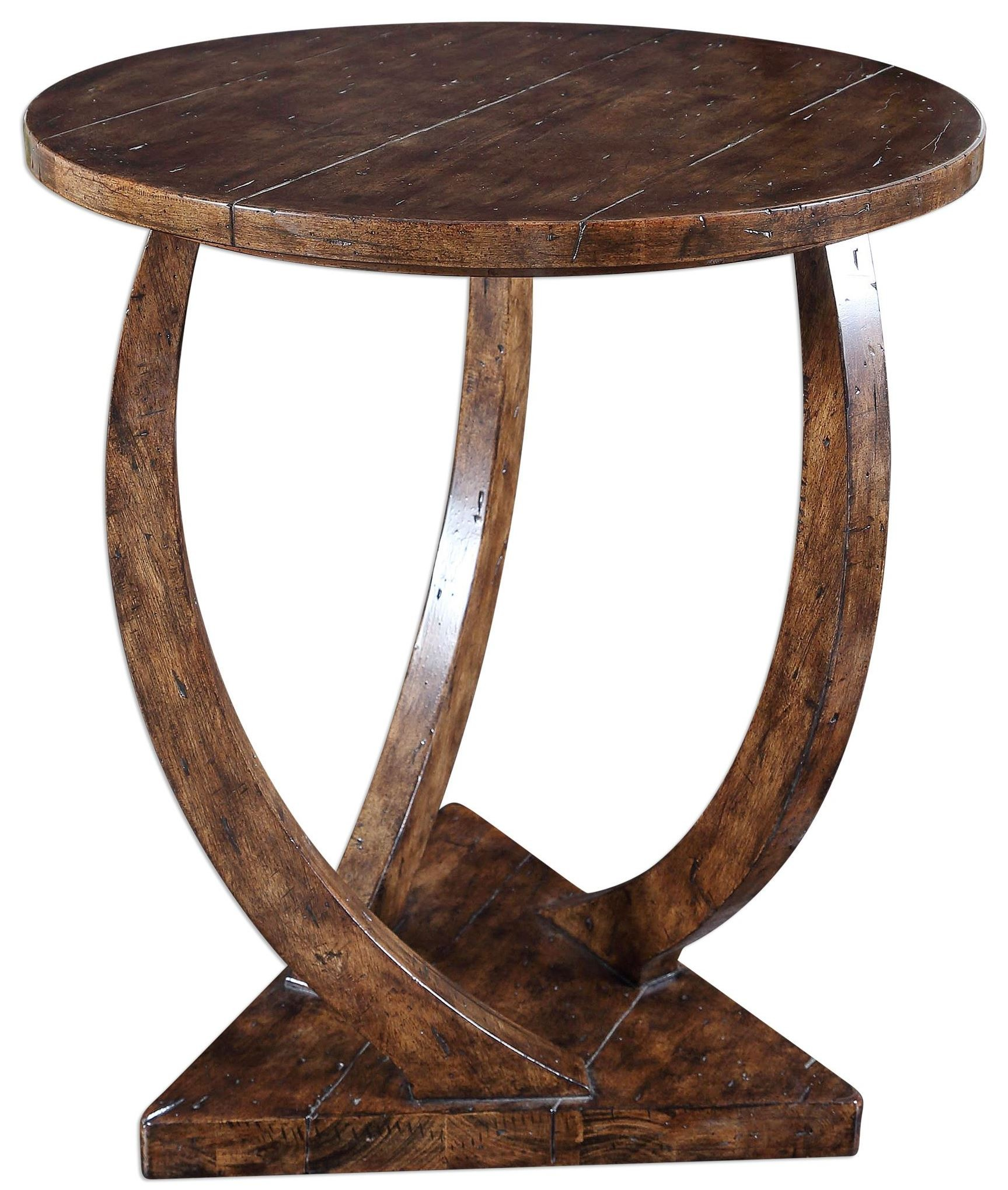 round accent table with glass top pandhari from uttermost tablecloth high placemat inch tall console red end target bedroom side tables metal coffee legs ceiling lights jcpenney