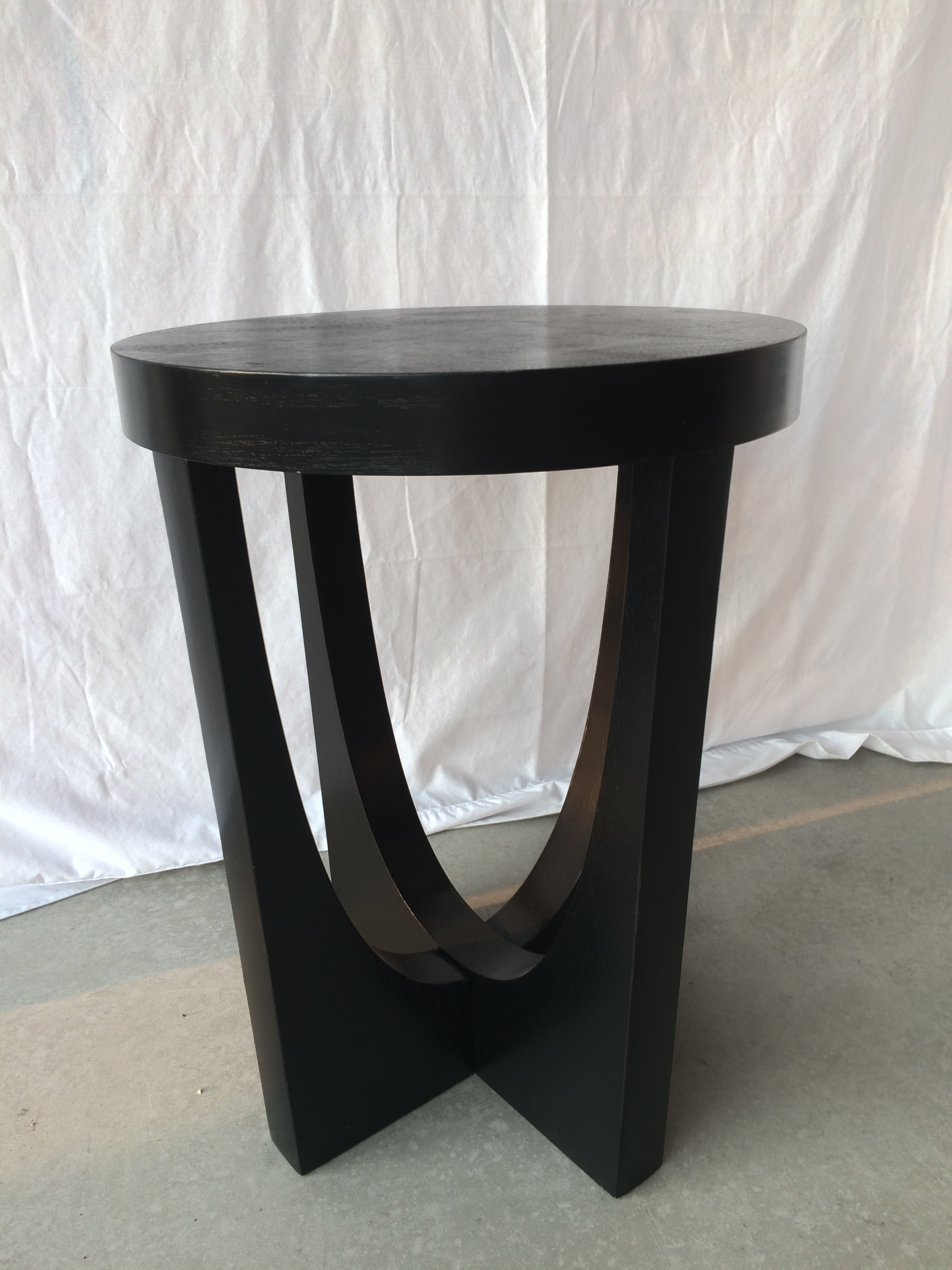 round black accent table home staging furniture rentals stand umbrella mosaic tops outdoor orange lamp glass end side piece garden set pier stools crystal and brass lamps small