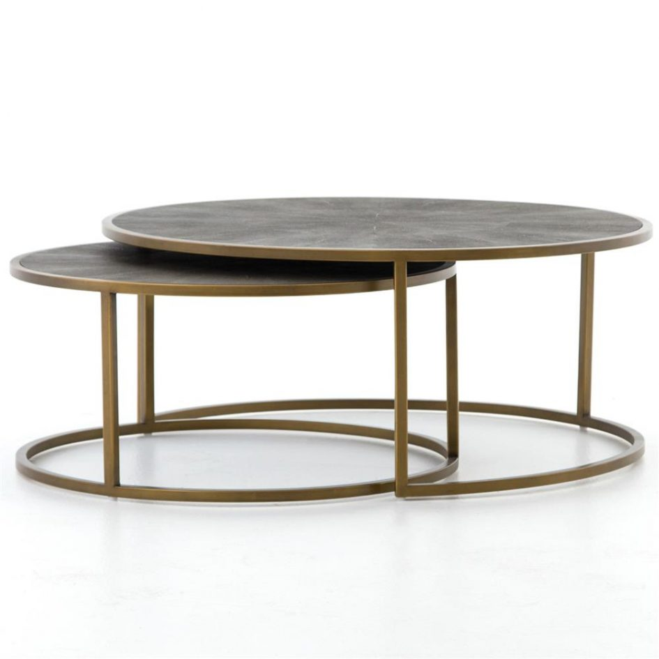 round black glass coffee table small stackable tables with nested stools next nest accent occasional side gray and white chairs home furniture edmonton dale tiffany amber mosaic