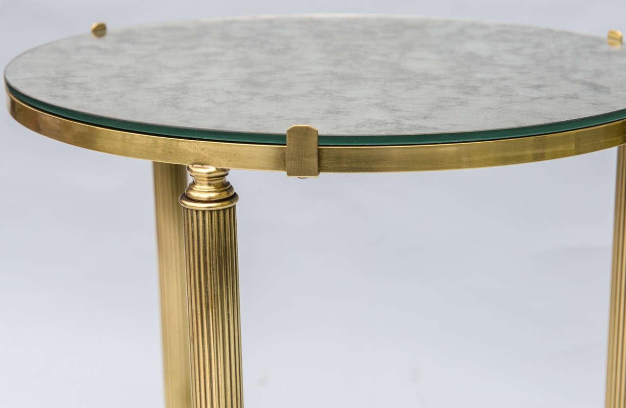 round brass accent table mirrored borghese rectangular bedroom side with shelf designs white marble dining pier wicker furniture pieces rustic end tables lamps asian design target