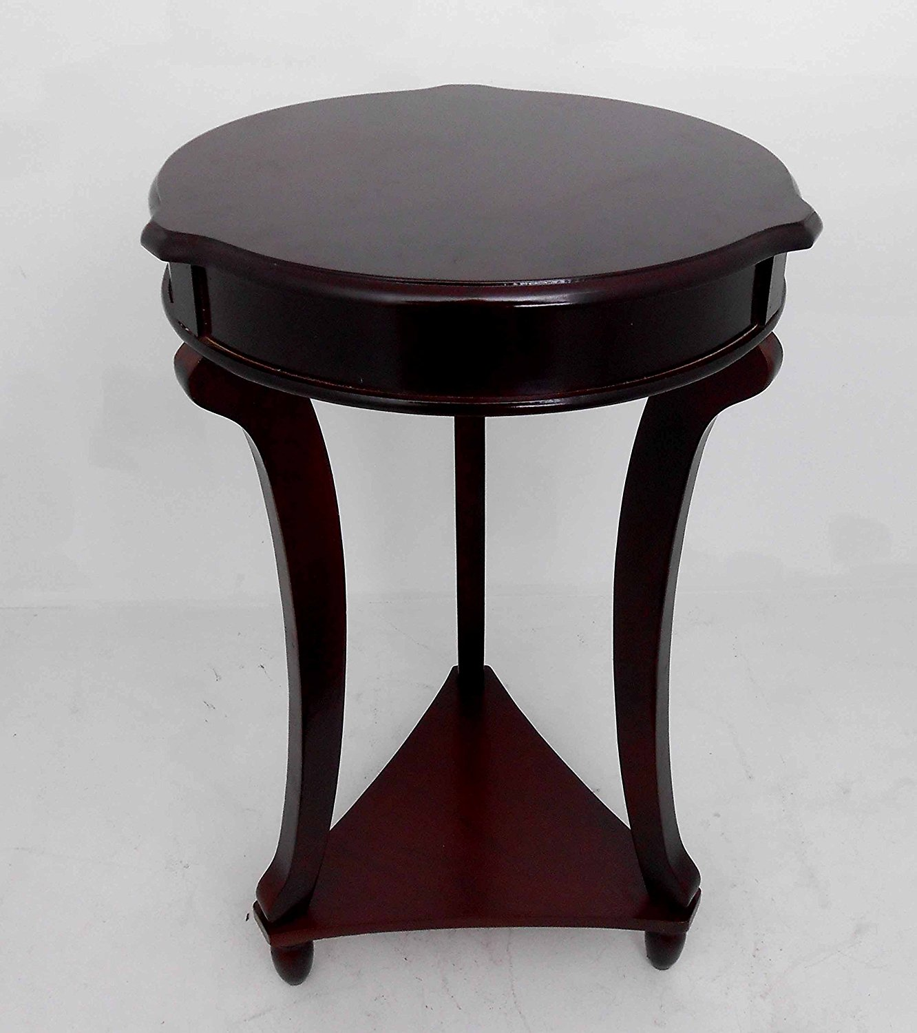round decorative table find brown accent get quotations tables end telephone plant home iron and chairs modern wood coffee plexiglass nesting set target threshold cabinet black