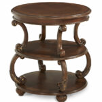 round end table victoria palace aico living room furniture espresso accent entry way small dining center decor bedside ideas cordless lamps with shade marble top breakfast 150x150