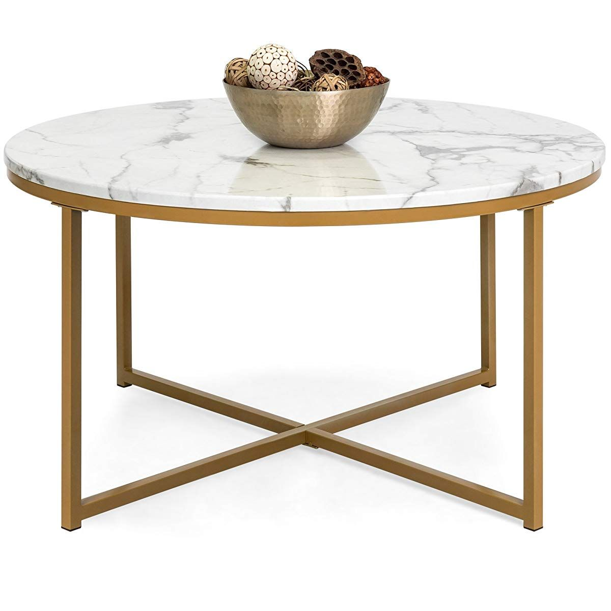 round faux marble top coffee accent side table mahogany nest tables hampton bay furniture website high bar runner and placemats set battery run lamps coastal beach decor home