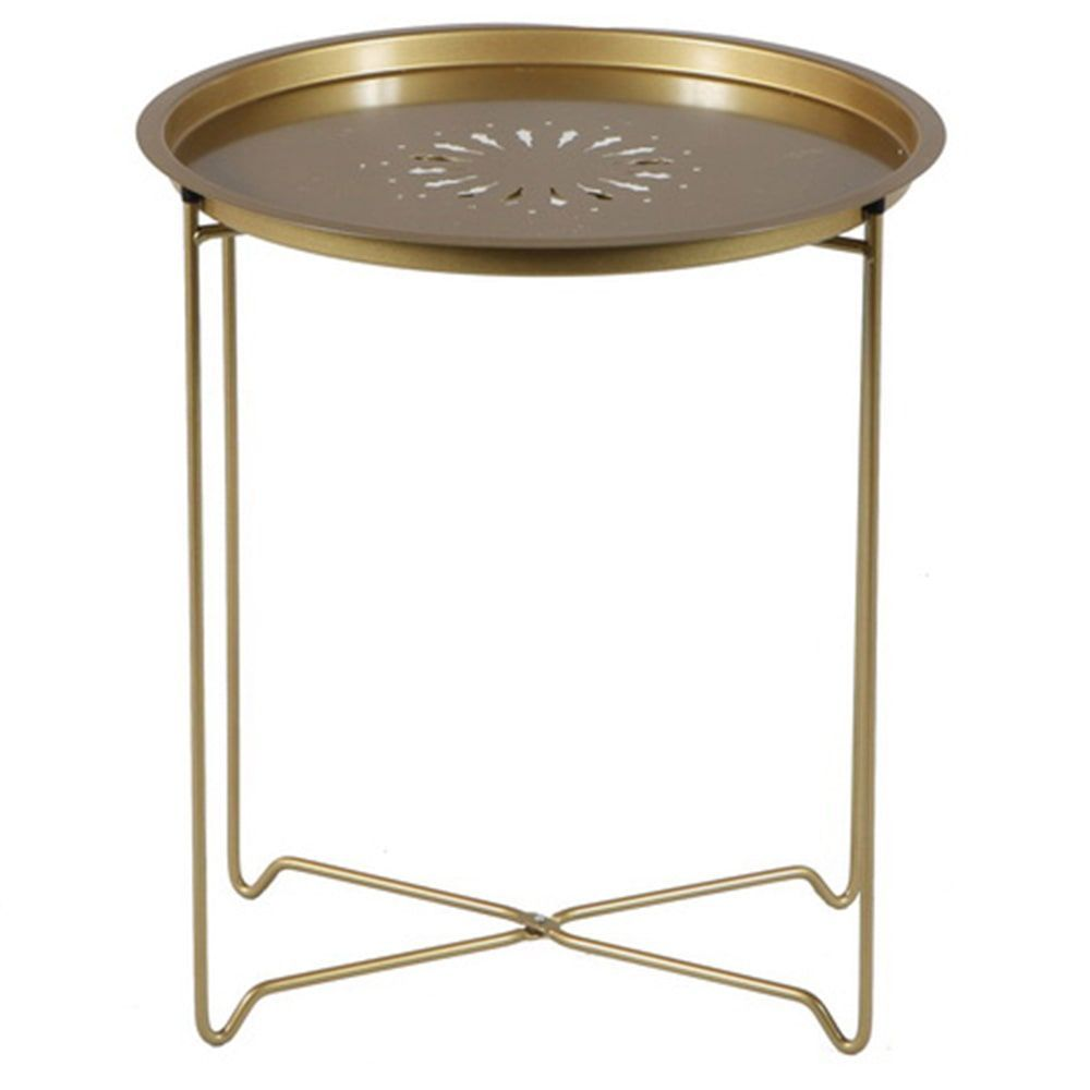 round fold down accent table black products clarissa metal coffee console sofa end tables for less outside storage bench chinese ginger jar lamps placemat set pulaski brass ship