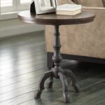 round foyer table decorating ideas with antique furniture design awesome type and several materials accent sheldon gray trestle dining small bar height black distressed side trunk 150x150