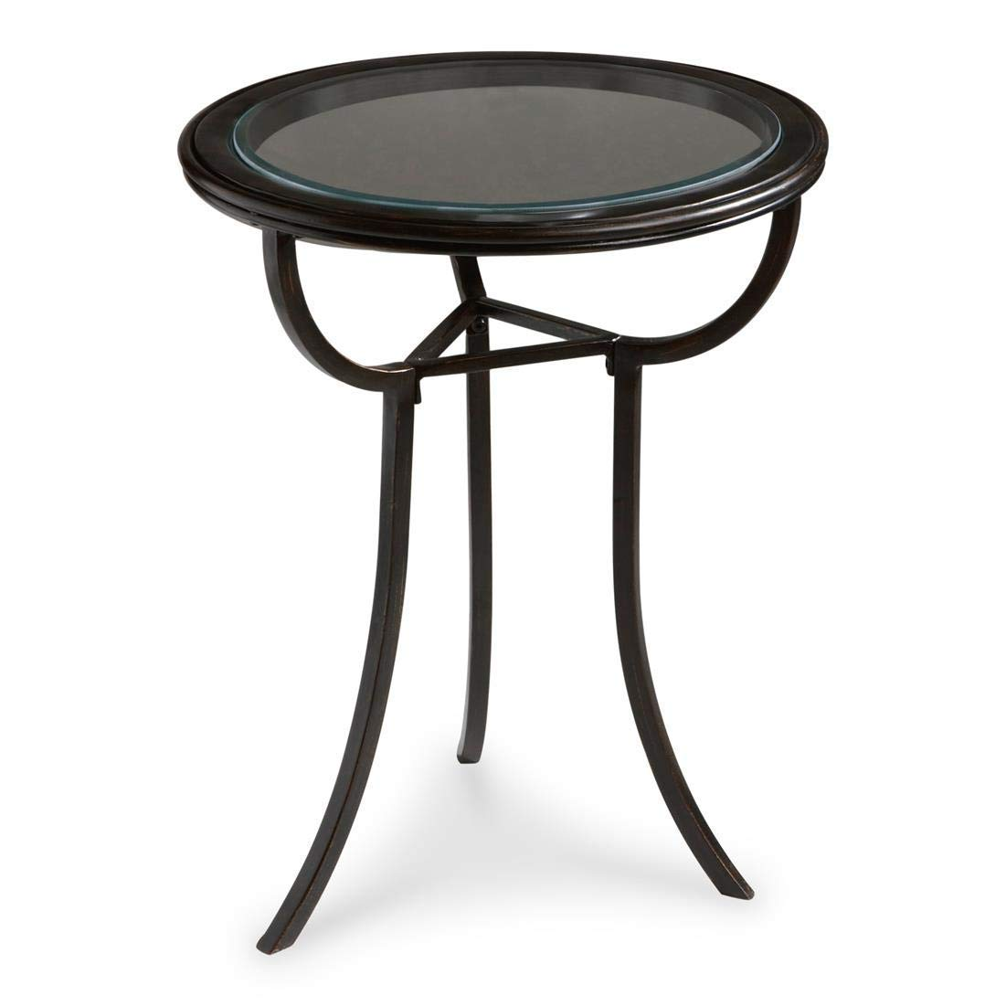 round glass accent table find fdyaabunjt bella green mosaic outdoor get quotations metalworks black aluminum tempered butler danley transitional thin cabinet bar living room