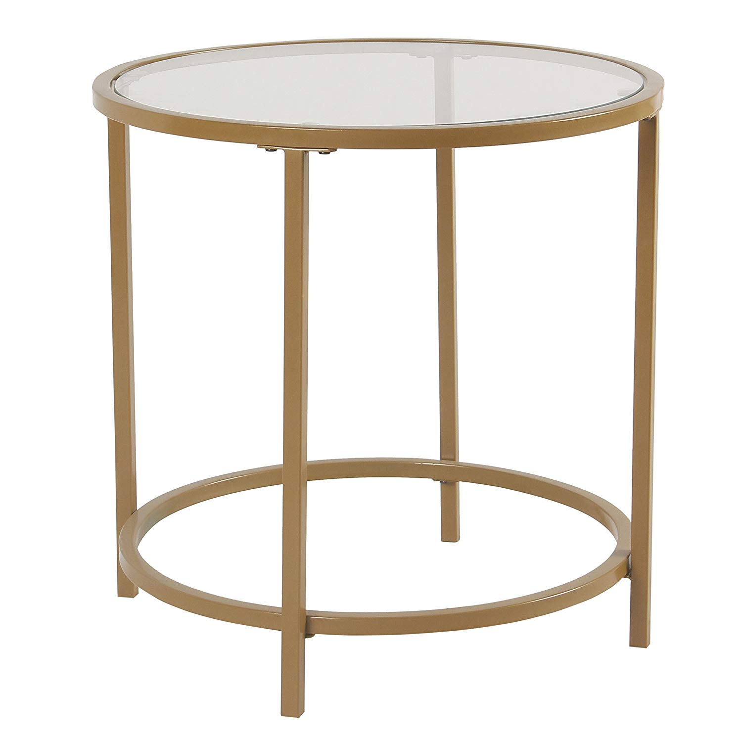round glass accent table find get quotations spatial order metal top gold cotton tablecloth marble living room oak sideboard younger furniture essentials side inch console dorm