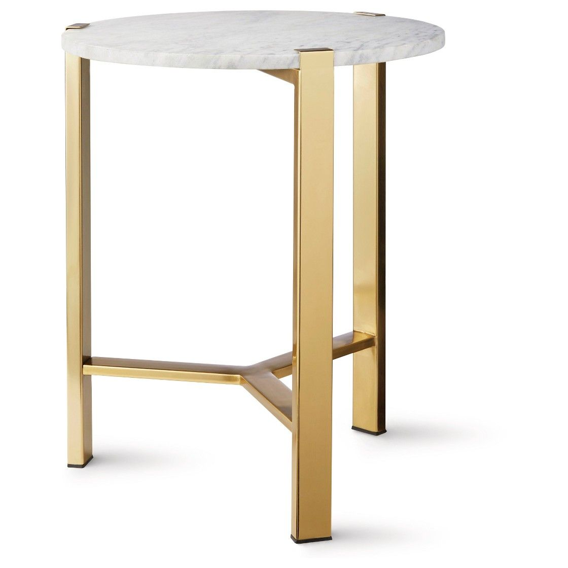 round gold accent table with marble top house ashley bedroom furniture metal basket end black glass coffee small triangle little lamp white bedside cabinets antique oak tables