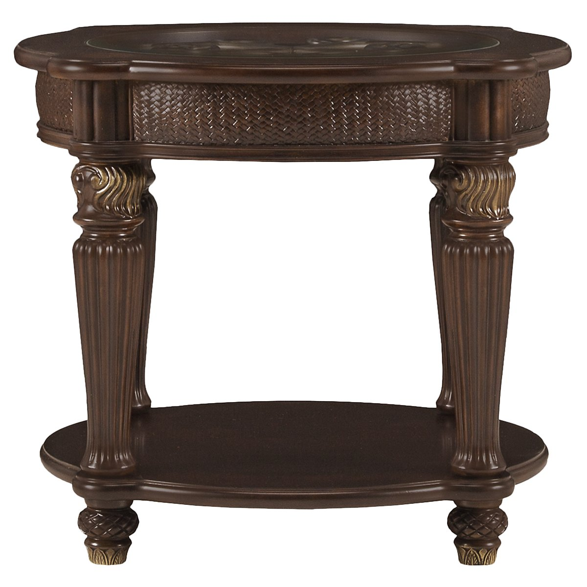 round metal accent table city furniture tradewinds dark tone end wood and acrylic small pier imports coupon off total entire purchase outdoor patio dining sets clearance inch high