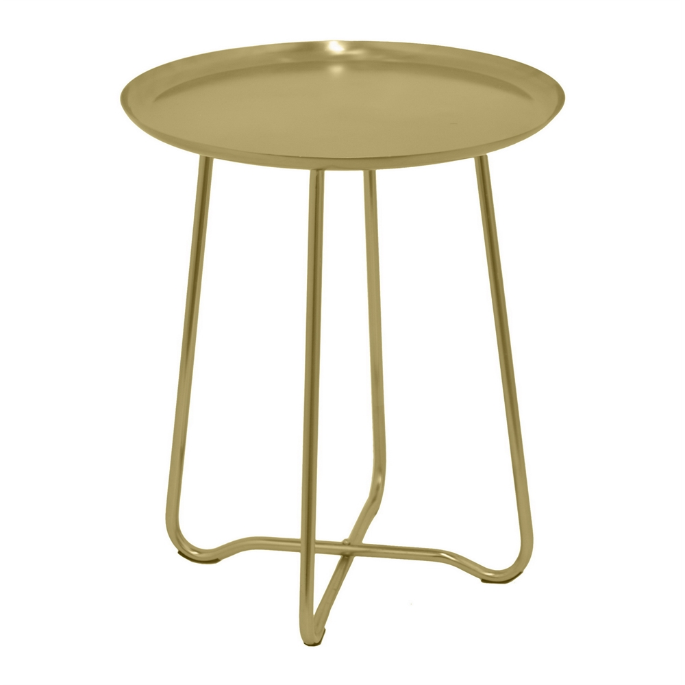 round metal accent table gold wood and top lamps nursery changing fur blanket target pier imports coupon off total entire purchase pottery barn floor lighting end decorator rustic