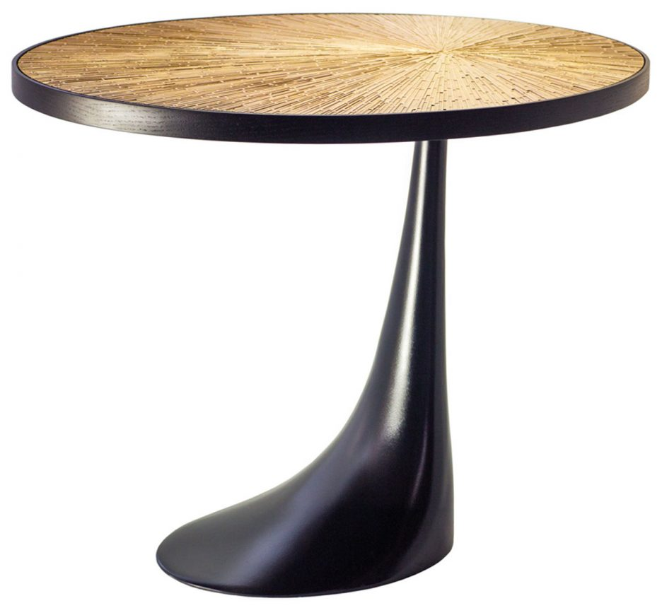 round metal accent table high side display coffee with tables small corner black white half moon console dark wood drawers queen size cocktail silver lamps zebra chair wall