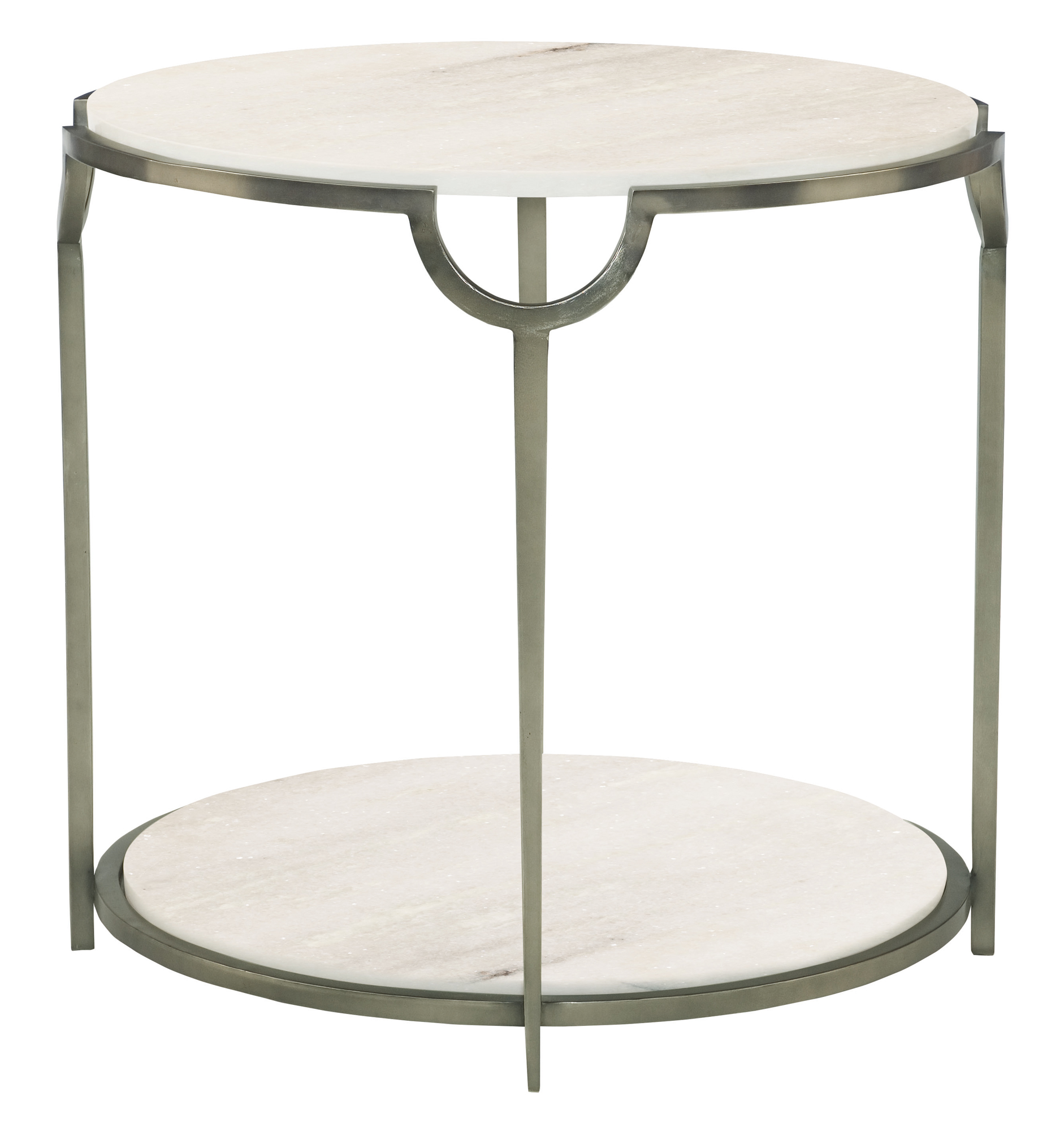 round metal end table bernhardt marble top accent target small cherry benchwright side square cover antique skinny room essentials storage knurl nesting tables west elm console