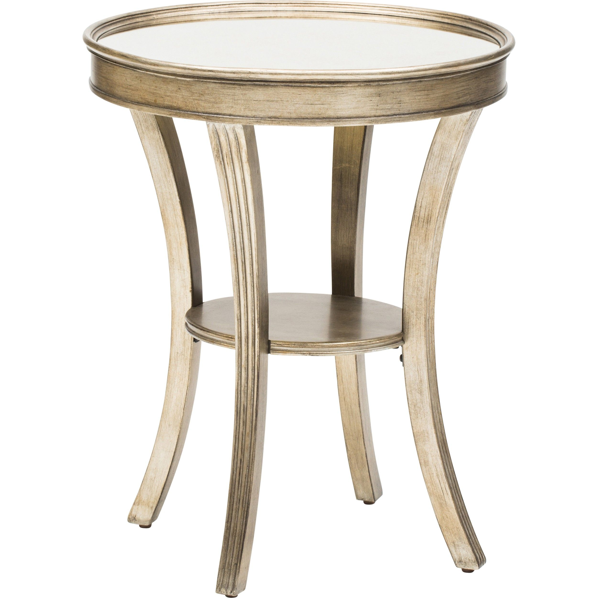 round mirror accent table mirrored furniture tables end what new telesco legs keter ice diy dining small vintage console rust colored tablecloth black wicker outdoor chairs rose