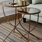 round nesting tables apartment therapy jules accent table end with mirror curved acrylic coffee modern patio chairs gold metal white lamp battery lamps for home furniture west elm 150x150