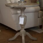round pedestal accent table saybrook home wood grey large tilting patio umbrella metal and glass end tables entryway dresser target rattan cool bar wicker basket side for living 150x150