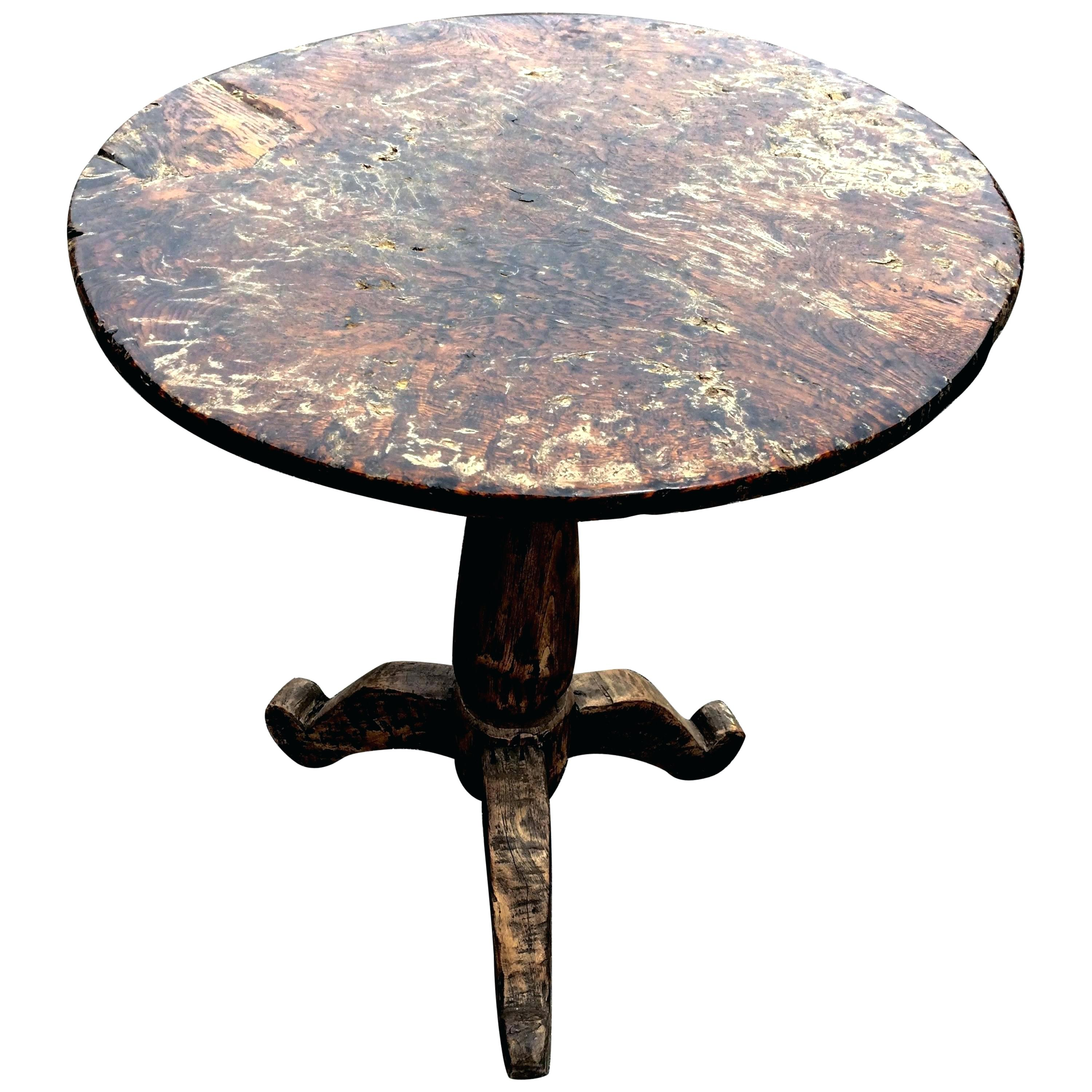 round pedestal side table turned contemporary superb primitive carved wood end for black accent fabric placemats oriental desk lamp ceramic outdoor furniture coffee glass with