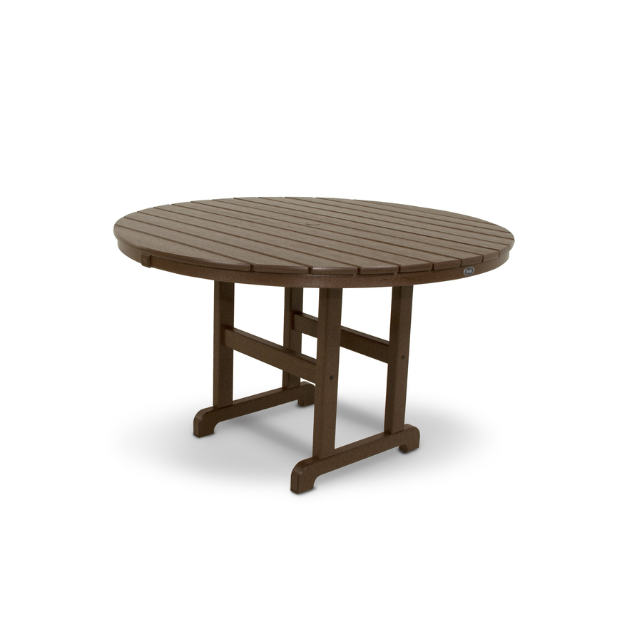 round plastic patio table cloths trex outdoor furniture monterey bay vintage side umbrella hole with built tables counter height chairs windham accent cabinet drawer natural wood