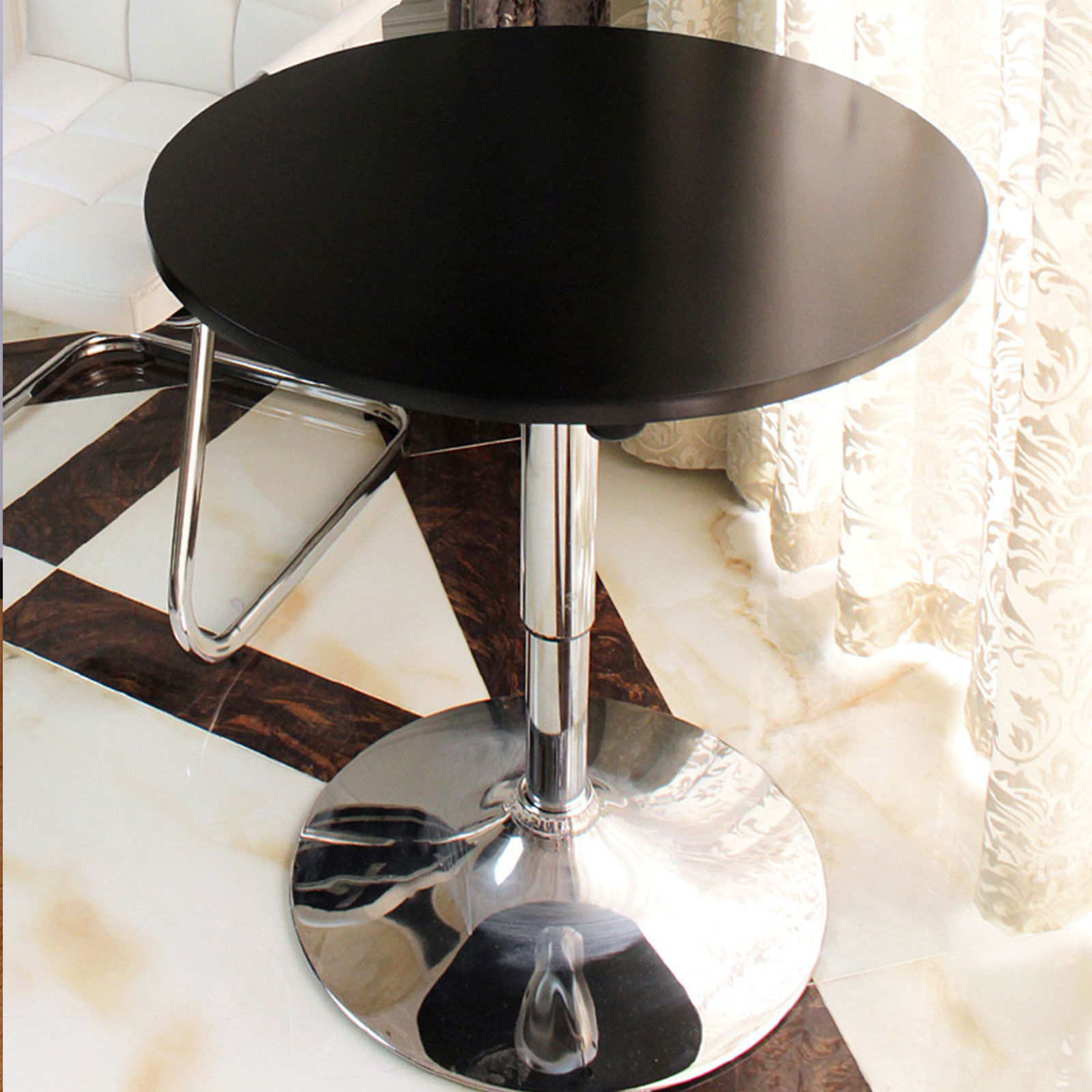 round table high bench steel basement target base pub counter stools plans adjustable height and seats pedestal industrial iron chairs pipe legs metal for wood square diy accent