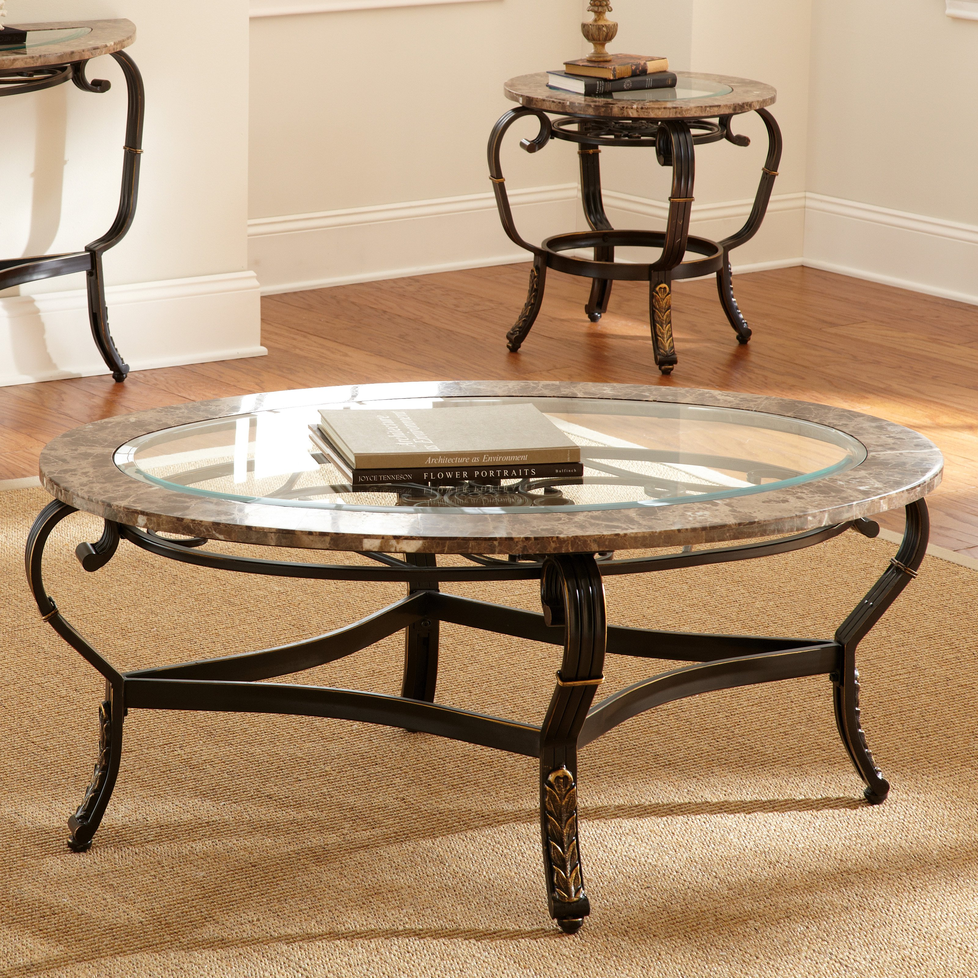 round table legs the terrific unbelievable black iron and glass charming wrought side coffee with marble top elegant tables end ethan allen accent tree trunk seats small modern