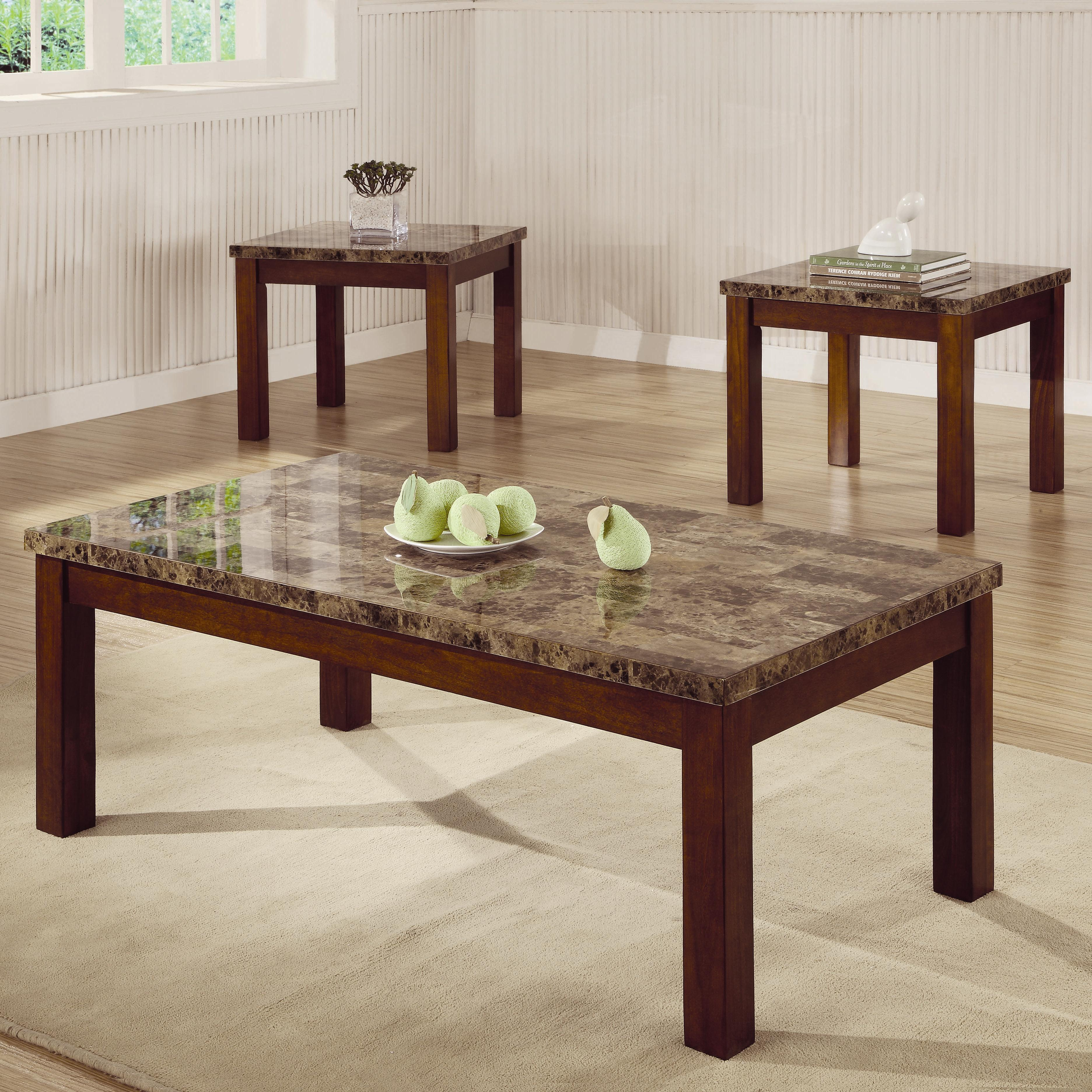 round tablecloth the perfect beautiful cherry wood end table coaster occasional sets modern coffee and set collections piece toc fine furniture tall shoe rack high chairs slabs