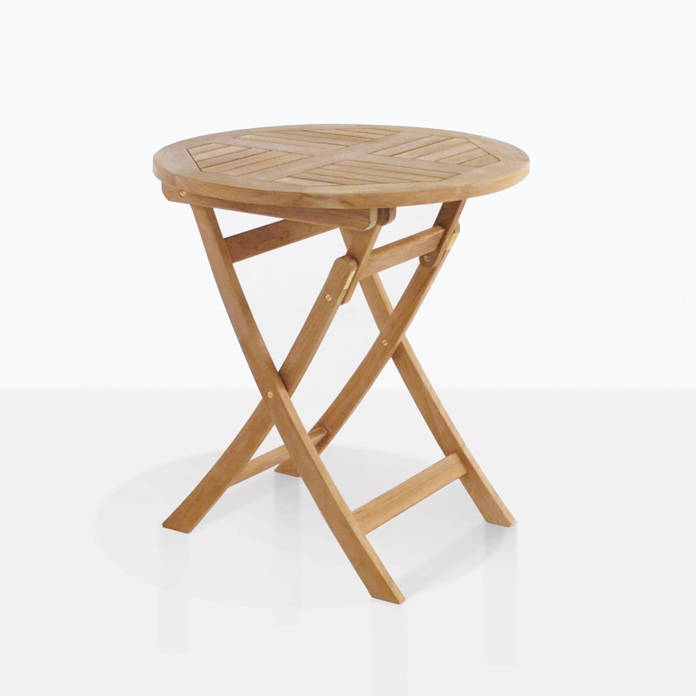 round teak folding tables dining accent table vanity unit with basin homebase garden chairs contemporary furniture edmonton tempered glass patio dorm room decorating ideas
