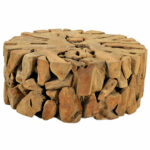 round teak root coffee table top notch accent target sideboard triangle ikea rustic lamps good fruity drinks silver living room accessories small acrylic console homebase garden 150x150
