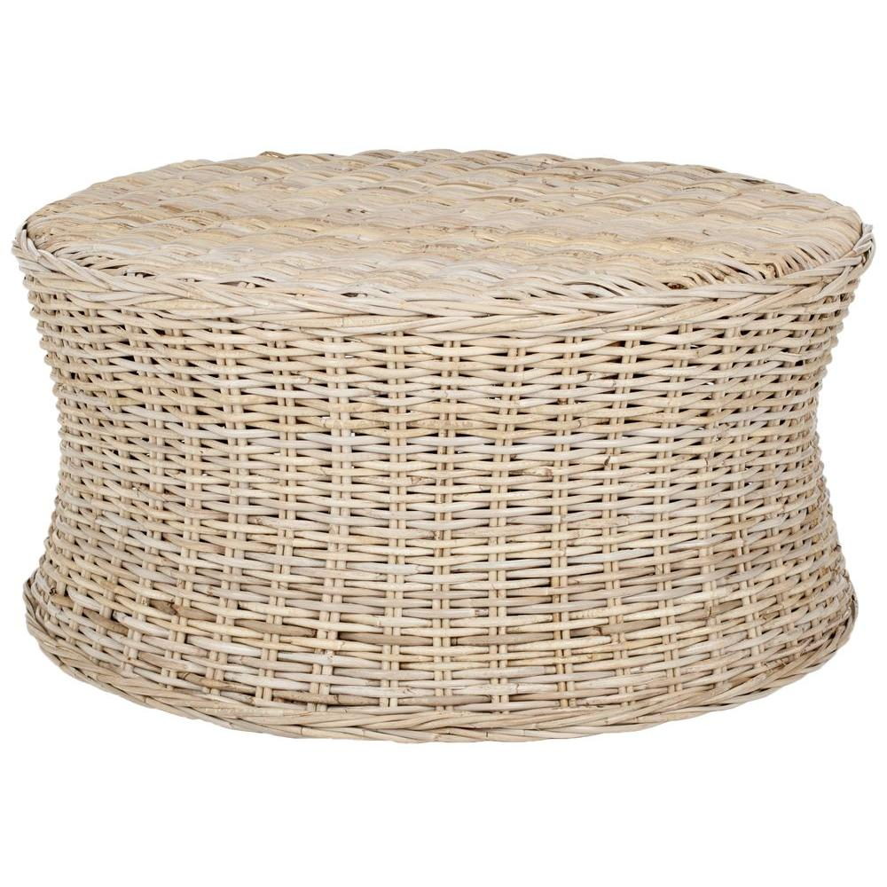 round wicker coffee table with hidden storage gallery outdoor safavieh ruxton natural unfinished accent ott the rattan patio full size sheesham wood furniture extra tall mirrored