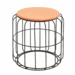 round wire side table orange top free shipping today outdoor tables for small spaces electric wall clock home goods kitchen console lamp design ikea dining set runner quilt kits 150x150