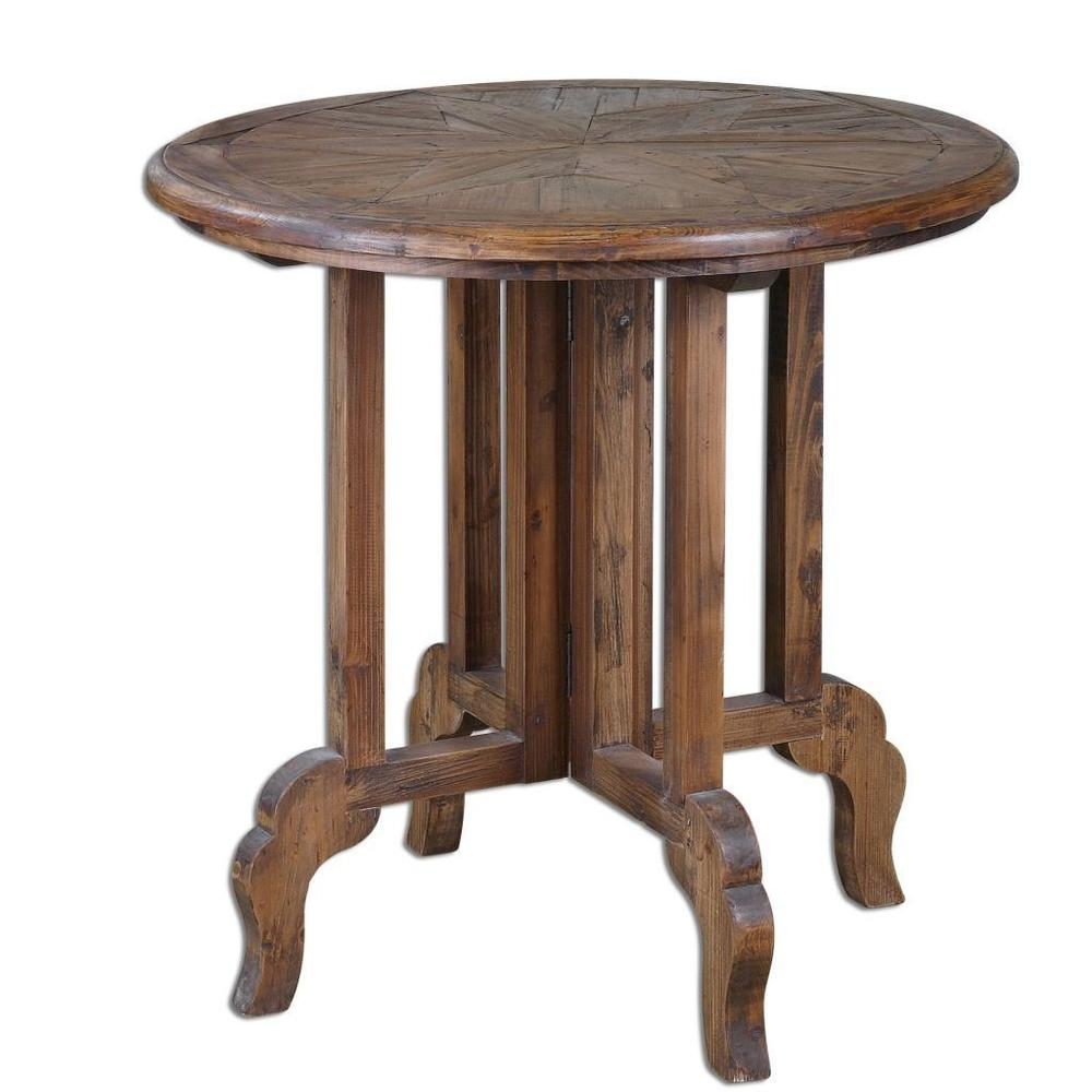 round wood and metal side table coffee elegant reclaimed accent sunburst top weber grill monarch specialties set ashley furniture wesling glass with gold legs blue quilted runner