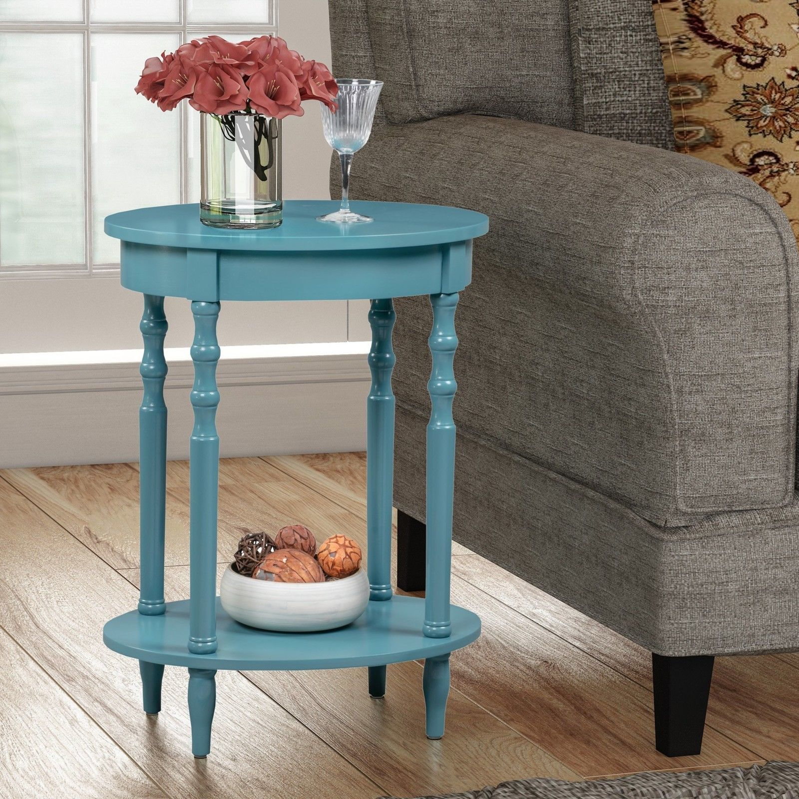 round wood end table modern oval accent side sofa nightstand small contemporary tables mirage mirrored cabinet porcelain lamp man wah furniture patio covers keter ice cooler