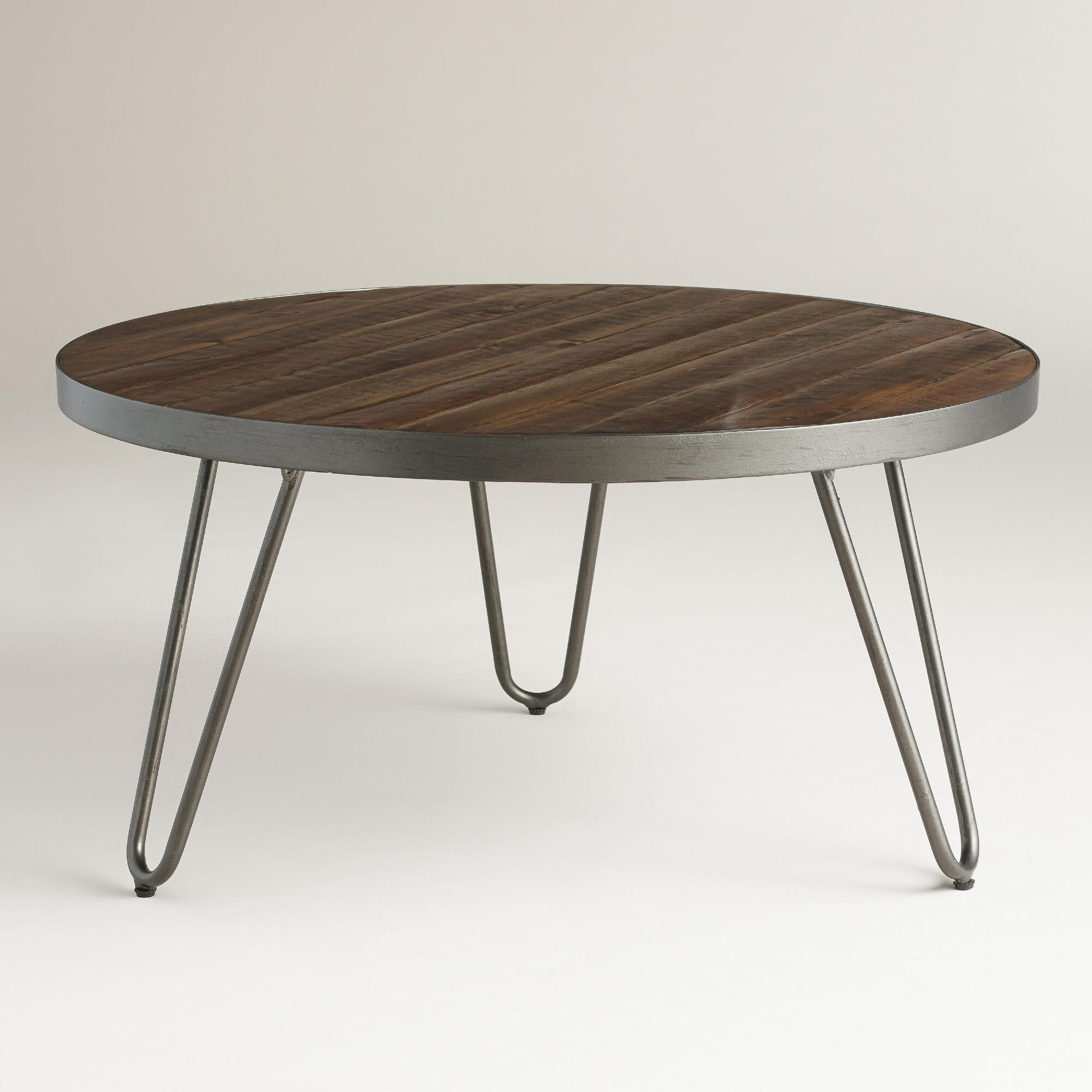 round wood hairpin coffee table world market iipsrv fcgi room essentials accent light lamp dining small entryway chest pier one imports coupons low pottery barn trunk end metal