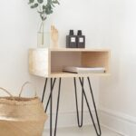 roundup gorgeous diy wooden accent tables curbly table modern home furniture black wrought iron end treasure chest small storage rectangle patio cover hairpin legs ikea drawer 150x150