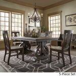 rowyn wood extendable dining table set inspire artisan accent pieces pallet patio furniture sets silver living room accessories end cedarwood target shoe storage square trunk 150x150