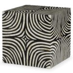 rumi global bazaar zebra print bone inlay end table kathy kuo home product accent dinette sets chevron runner pattern west elm knock off decorative metal legs inexpensive sofa 150x150