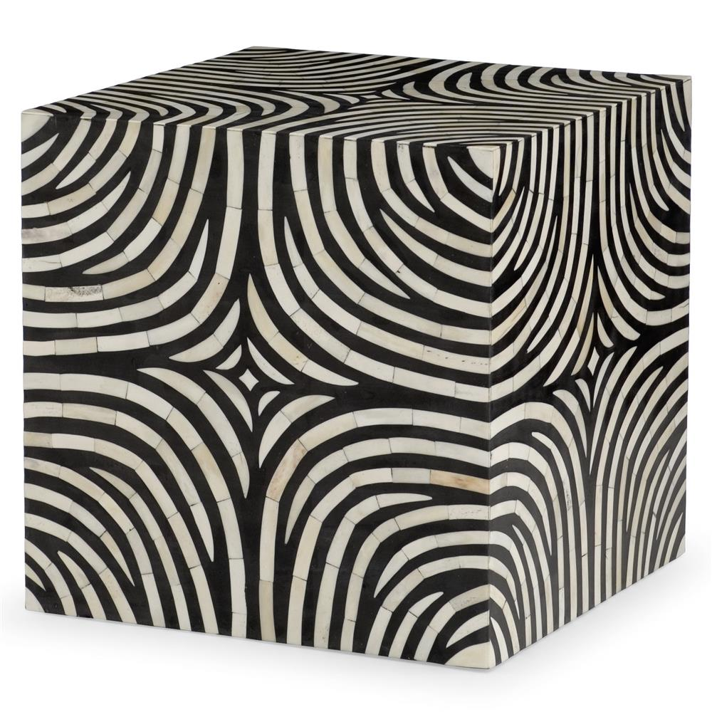 rumi global bazaar zebra print bone inlay end table kathy kuo home product wood accent brown target chest drawers lamps without electricity patio wrought iron with marble top tall